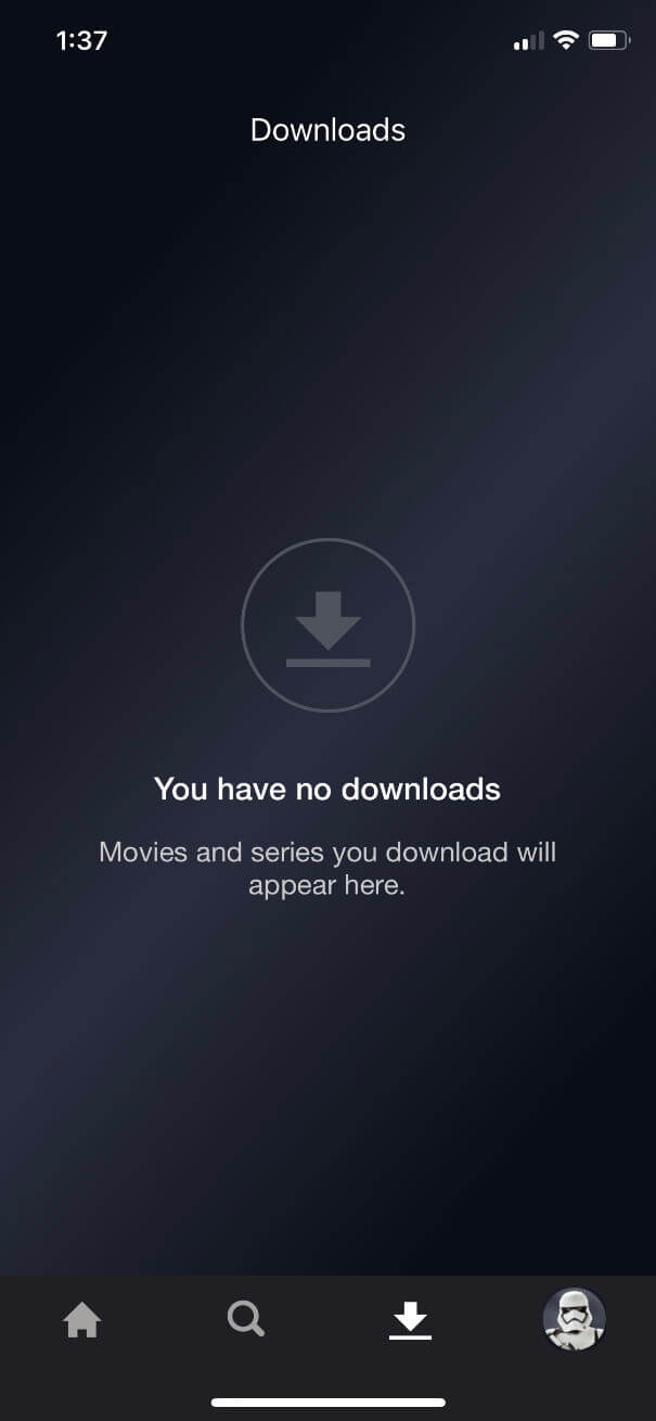 disney plus downloads